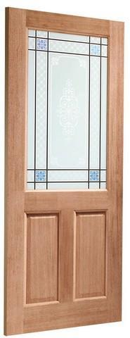 XL Joinery External Hardwood Dowelled Single Glazed Door-Door Store Rotherham