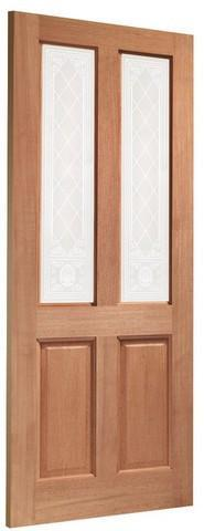 XL Joinery External Hardwood Dowelled Single Glazed Malton Door-Door Store Rotherham