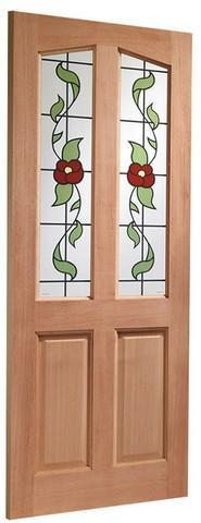 XL Joinery External Hardwood M&T Single Glazed Richmond Door-Door Store Rotherham