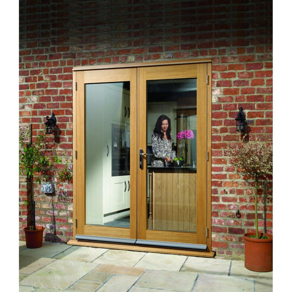 XL Joinery External Pre-Finished Oak La Porte French Door Set-Door Store Rotherham