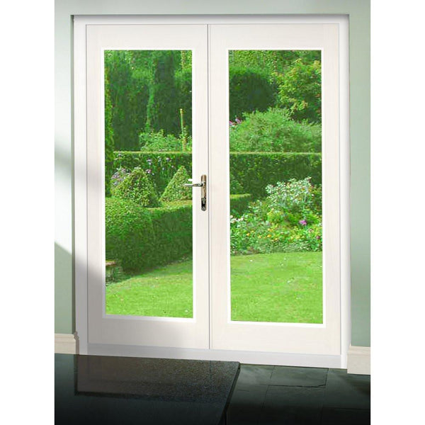 dbf49b174253 XL Joinery External Pre-Finished White La Porte French Door Set XL Joinery  External Pre-Finished White La Porte French Door Set