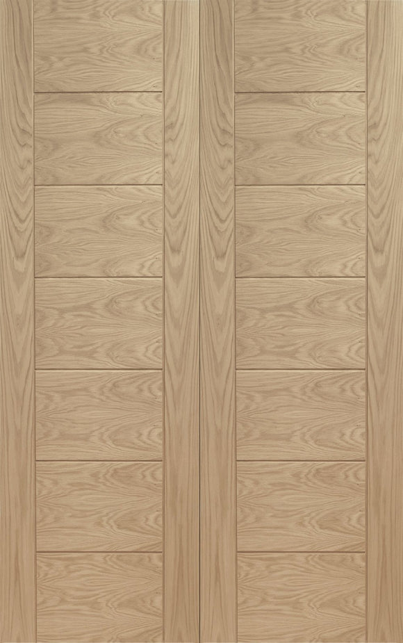 XL Joinery Internal Oak Palermo Door Pair-Door Store Rotherham
