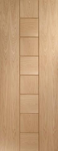 XL Joinery Internal Oak Pre-Finished Messina Door-Door Store Rotherham