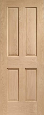 XL Joinery Internal Oak Victorian 4 Panel Door-Door Store Rotherham