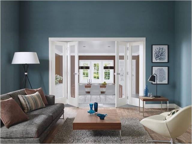 XL Joinery Internal Solid White Primed Freefold Room Divider Door ...