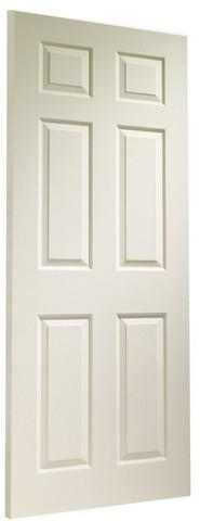 XL Joinery Internal White Moulded Colonist 6 Panel Fire Door-Door Store Rotherham