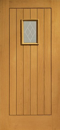 XL Joinery Pre-Finished External Oak Double Glazed Chancery Door Set-Door Store Rotherham