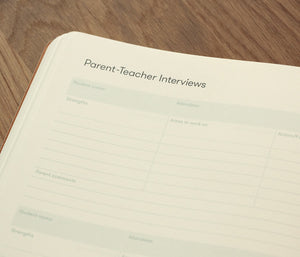 Templates for Parent-Teacher interviews, professional development, student records, term overview and more.