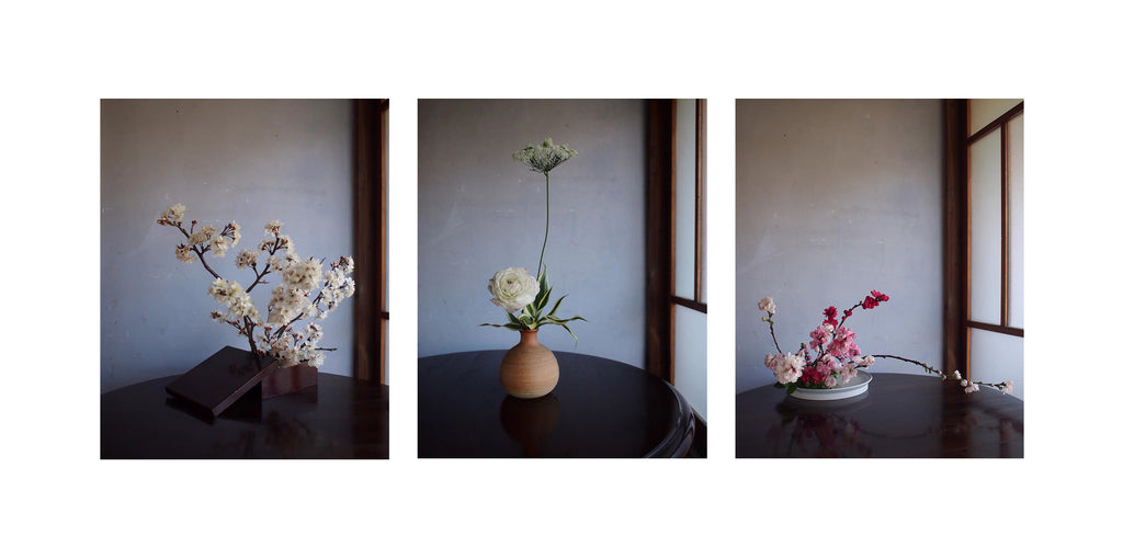 The nature closeness of Ikebana