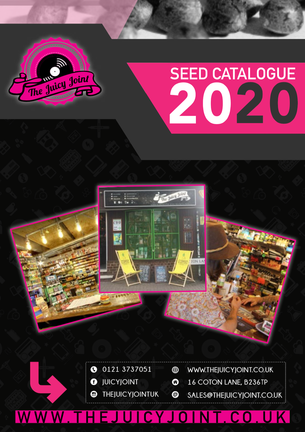 2020 The Juicy Joint Seed List