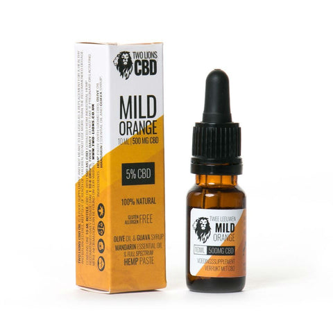 SALE!! Two Lions - CBD Oil Mild Orange 5%