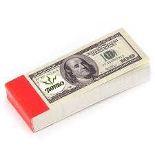 Bank Note - Filter Tips - £10 Note or 100 US Dollars
