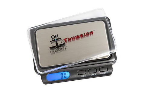 ON BALANCE TW-600-BK Truweigh Miniscale 600g x 0.1g - The JuicyJoint