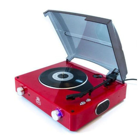 GPO Stylo Turntable (Red) - The JuicyJoint