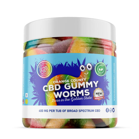 Orange County CBD Gummies - Gummy Worms