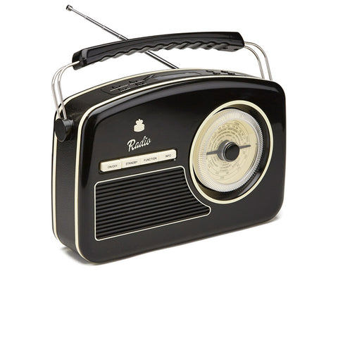 GPO Rydell Dab Radio (Black) - The JuicyJoint