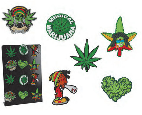 Leaf Rubber Fridge Magnet - The JuicyJoint