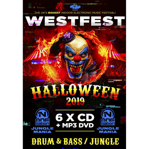 Westfest Halloween 2019 - Drum And Bass CD Pack
