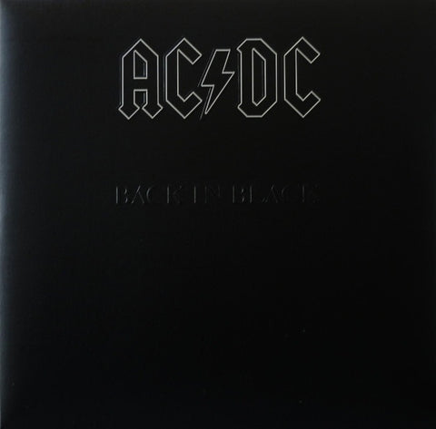 AC/DC - Back in Black 2 x LP - The JuicyJoint