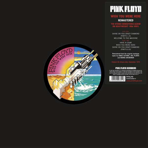 Pink Floyd - Wish You Were Here LP - The JuicyJoint