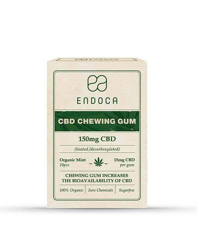 Endoca CBD Chewing Gum 150mg - The JuicyJoint