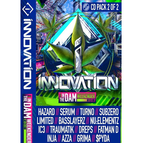 Innovation In The Dam - 2018 CD Pack 2