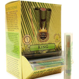 King Palm - Hand Rolled Palm Leaf Blunts - Single King Tube