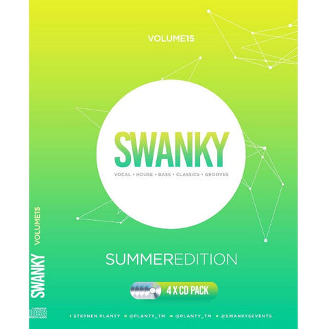 Swanky Vol 15 Summer Edition - 4 x CD Pack