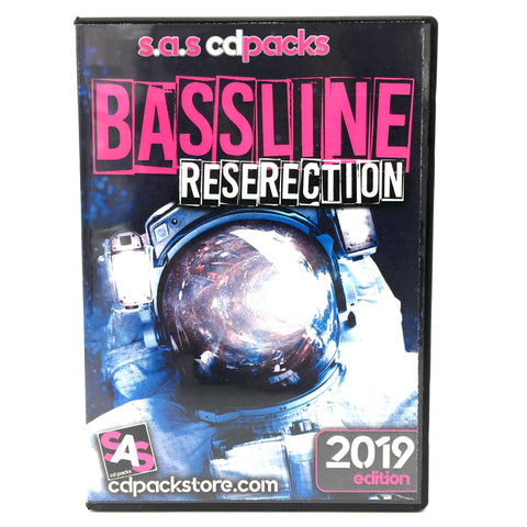 Bassline Reserection 2019 - 4 x CD