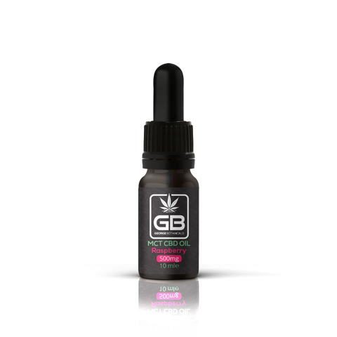 George Botanicals - 500mg CBD Oil 10ml MCL Drops 5%