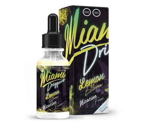 Miami Drip Club E-Liquid - 50ml 0mg + Free Nic Shot - The JuicyJoint