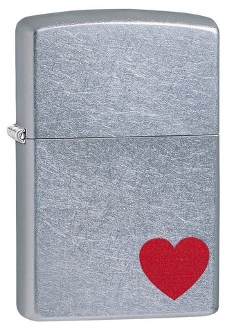 Zippo Classic Lighter - Love - Street Chrome