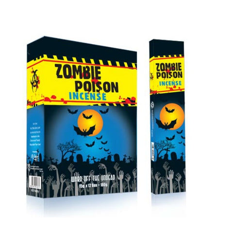 Zombie Poison Incense Sticks