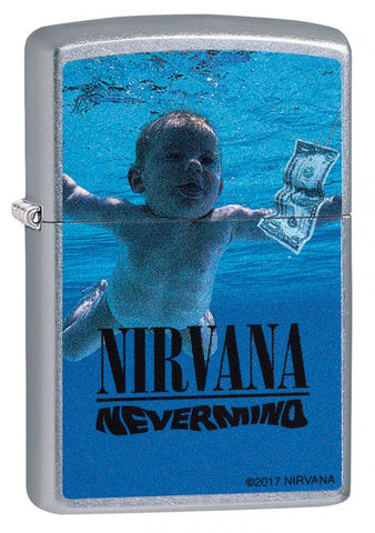 Zippo Classic Lighter - Nirvana Nevermind - Street Chrome