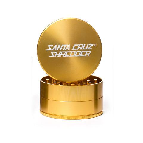 Santa Cruz Shredder - Metal Grinder 3pc Large - Gold