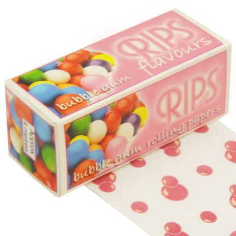 Rips Flavour Bubblegum Rolls - The JuicyJoint