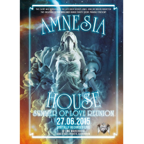 Amnesia House - The Summer Of Love Reunion Cd Pack