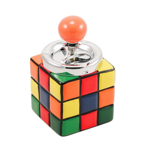 Ashtray - Rubix Cube Design