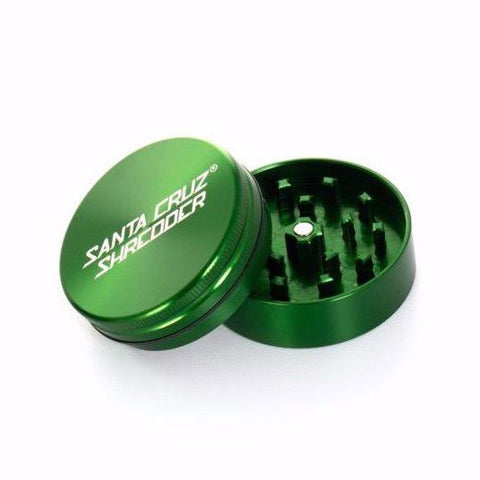 Santa Cruz Shredder - Metal Grinder 2pc Medium Green