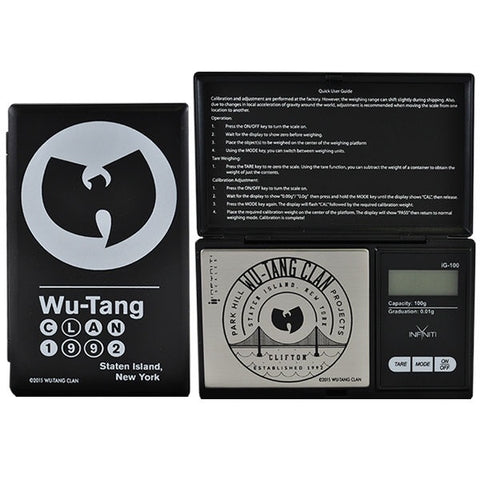 SALE!! Infyniti Scales - Wutang Clan G-Force Digital Scale 100g x 0.01g