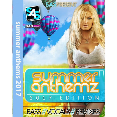 Summer Anthemz 2017 Edition - House And Bass CD Pack