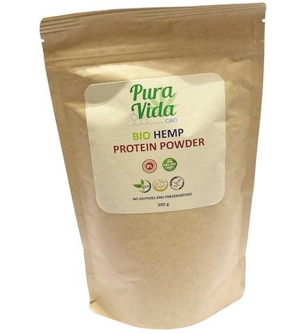 Pura Vida Bio Hemp CBD Protein Powder 300g - The JuicyJoint