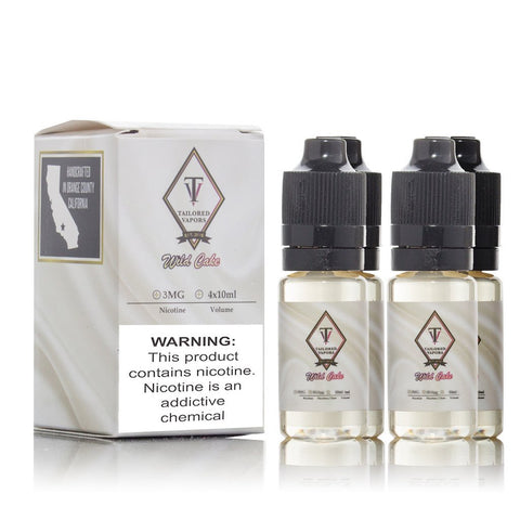 Tailored Vapours Premium E-liquid 4 x 10ml PRICE REDUCED!!