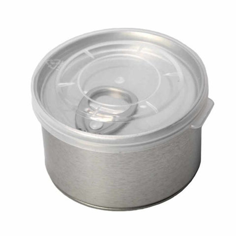 Qnubu - Easy Open Tin Can - Pack of 10