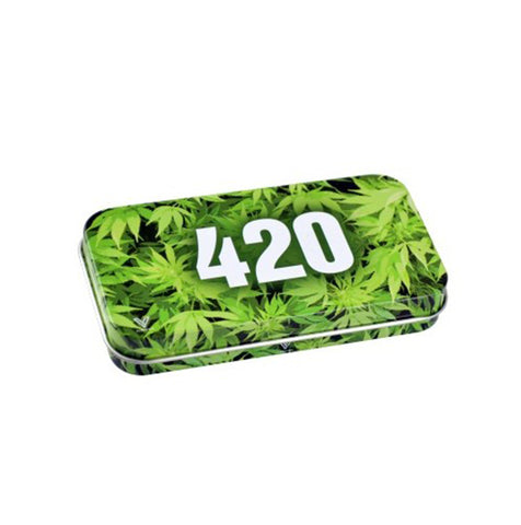 420 Green - Metal Tobacco Tin by V Syndicate