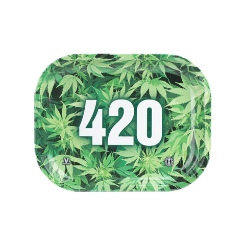 V Syndicate - 420 Rolling Tray - Leaves