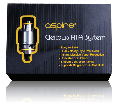 Aspire Cleito 120 RTA System - The JuicyJoint