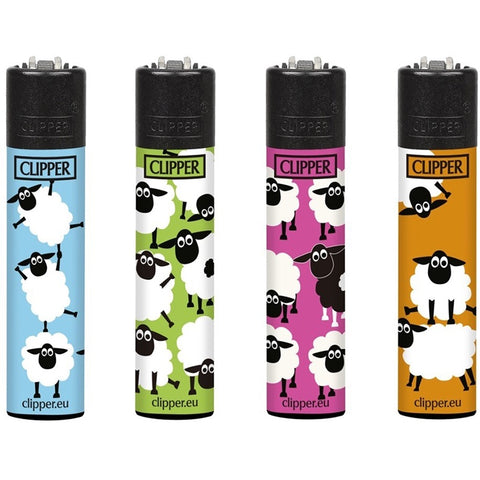 Clipper Lighters - Fluo Sheep Set