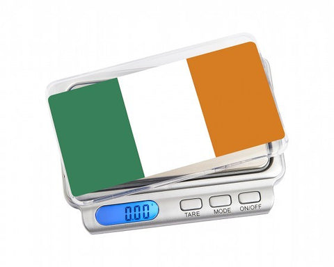 ON BALANCE TW-100-IE Truweigh Special Edition Ireland Miniscale 100g x 0.01g - The JuicyJoint