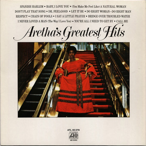 Aretha Franklin - Greatest Hits LP - The JuicyJoint